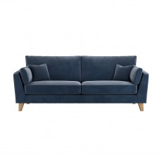 Our Sofas Salcombe Sands Plush 4 Seater Sofa