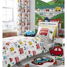 Catherine Lansfield Transport Duvet Set