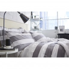 Bianca Ombre Cotton Stripe Duvet Set