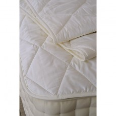 Vispring Mattress Protectors Wool Filled, Cotton Cover