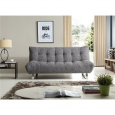 Kyoto Naomi Black Speckle Sofa Bed