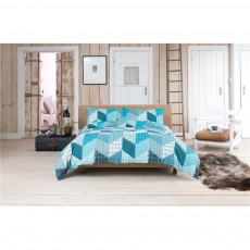 Lobster Creek Coastal Patch Duvet Cover Set
