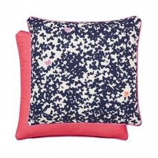 Joules Painted Poppies Cushion