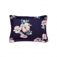 Joules Painted Poppies Oxford Pillow Case