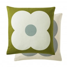 Orla Kiely Giant Abacus Apple Feather Filled Cushion