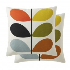 Orla Kiely Multi Stem Multi Feather Filled Cushion