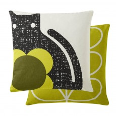 Orla Kiely Poppy Cat Feather Filled Cushion