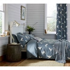 Sanderson Paper Doves Denim Duvet Cover