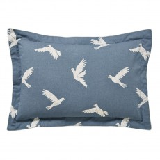 Sanderson Paper Doves Denim Oxford Pillow Case