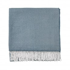Sanderson Paper Doves Denim Throw