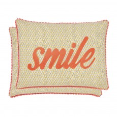 Helena Springfield Melody Coral Breakfast Cushion