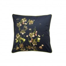 Ted Baker Arboretum Navy Feather Filled Cushion