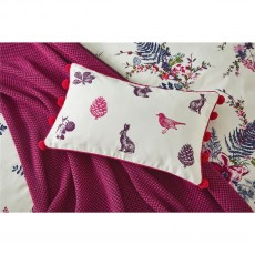 Joules Harvest Garden Floral Cushion