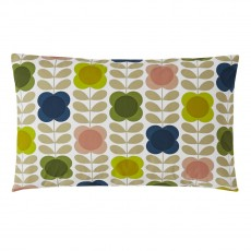 Orla Kiely Summer Flower Stem Housewife Pillowcase Pair