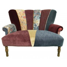 Quirky Harlequin Love Seat 24 SOLD