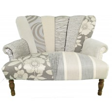 Quirky Harlequin Love Seat 25