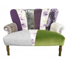 Quirky Harlequin Love Seat 27