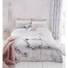 Catherine Lansfield Enchanted Unicorn Duvet Set