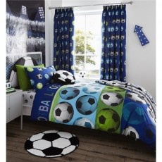 Catherine Lansfield Football Duvet Set