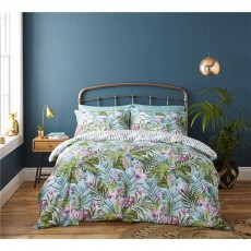 Catherine Lansfield Tropical Leaf Duvet Set