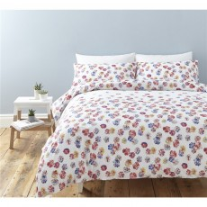 Cath Kidston Guernsey Flowers Single Duvet Set