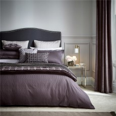 Peacock Blue Hotel Rivage Damson Duvet Cover