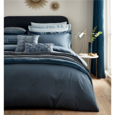 Peacock Blue Hotel Rivage Prussian Blue Duvet Cover