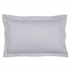 Peacock Blue Hotel Zella Amethyst Oxford Pillowcase