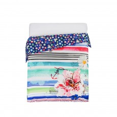 Desigual Blue Summer Duvet Cover