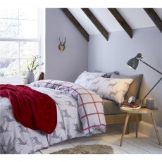 Catherine Lansfield Brushed Stag Duvet Set
