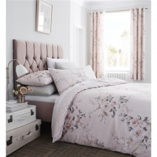 Catherine Lansfield Canterbury Blush Duvet Set