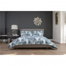 The Lyndon Company Peacock Feather Teal Duvet Set