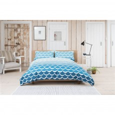 Lobster Creek Mermaid Duvet Set