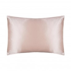 Belledorm Silk Powder Pink Housewife Pillowcase