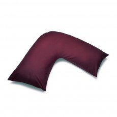 Belledorm V-Shape Pillowcase AUBERGINE