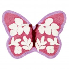 Catherine Lansfield Butterfly Shaped Rug