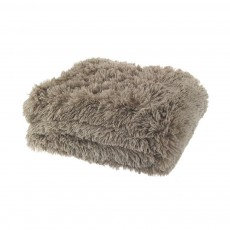 Catherine Lansfield Cuddly Natural Throw