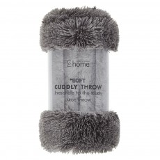 Catherine Lansfield Cuddly Charcoal Throw