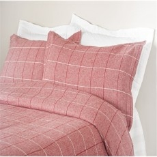 Design Port Acton Red Oxford Pillowcase