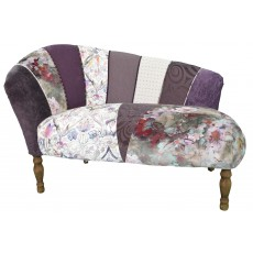 Quirky Harlequin Chaise Lounge 1