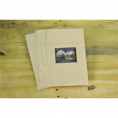 Studio Collection 100% Cotton 220 TC Cream Oxford Pillowcase