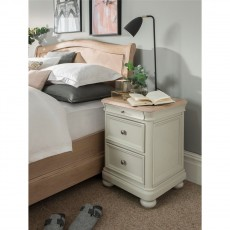 Our Furniture Siena 2 Drawer Bedside