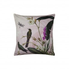 Ted Baker Pistachio Feather Filled Velvet Cushion