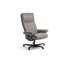 Stressless Aura Medium Office Chair (Wood Base)