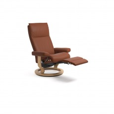 Stressless Aura Medium Chair with LegComfort (Electric)