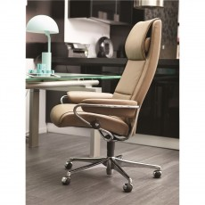 Stressless Paris Office Chair (Steel)