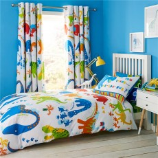 Catherine Lansfield Dino-Saw Duvet Set