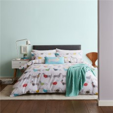 Catherine Lansfield Silly Sausage Dog Duvet Set