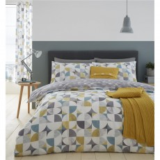 Catherine Lansfield Retro Circles Duvet Set