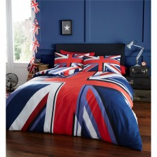 Catherine Lansfield Union Jack Duvet Set